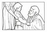 Preacher Coloring Illustrations Pen Waitsel Ink sketch template