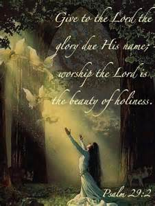 Beauty of Holiness Scripture