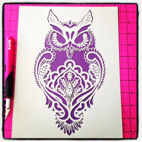 Paper Cutting Templates For tula pink s design for threads an embroidery