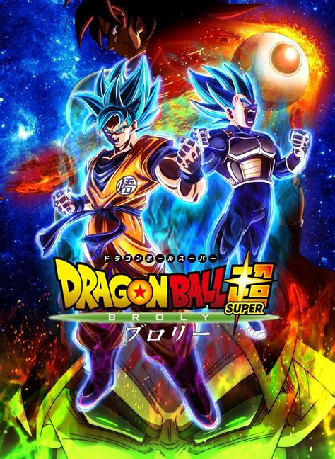 Dragon Ball Super Movie poster   Anime dragon ball super ...