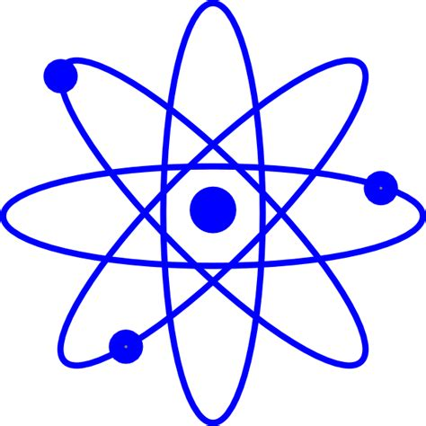Atom Clipart Blue Atom Clip At Clker Vector Clip