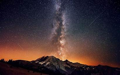 Mountain Stars Landscape Desktop Wallpapers Mobile Backgrounds
