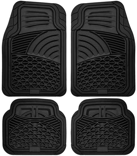 floor mats for cars car floor mats for all weather rubber 4pc set tactical fit