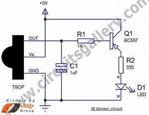 Ir Transmitter And Receiver Circuit For Best Remote