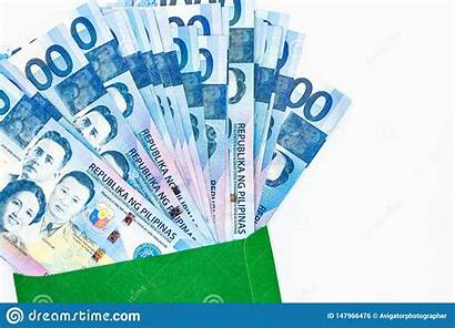 Peso Philippine Money Bill Philippines Bills Currency