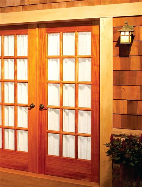 build   french doors popular woodworking magazine