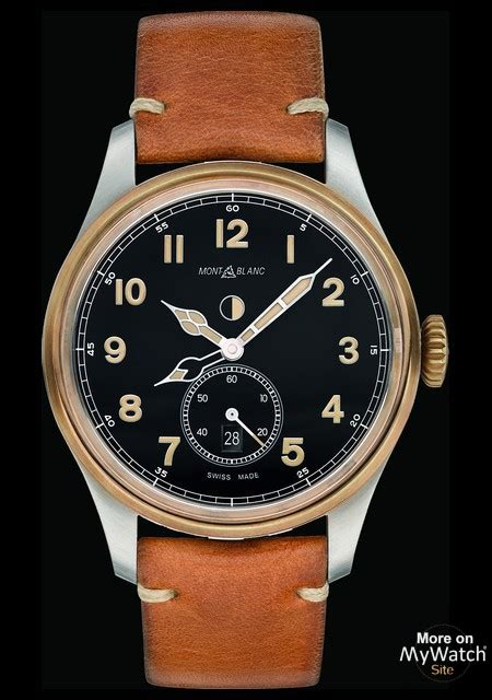 Watch Montblanc 1858 Automatic Dual Time | Collection ...