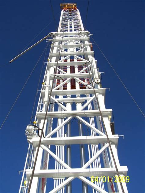 drilling rig masts oil gas components stewart