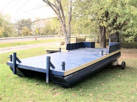Small Pontoon Boat Ottawa by Steel Pontoon Barge Steel Pontoon Barge 2014 New Boat For