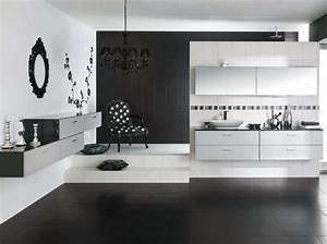 Déco Salle De Bain Noir Et Blanc : decoration salle de bain noir et blanc ~ Melissatoandfro.com Idées de Décoration