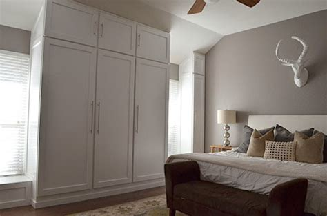 Make A Closet On A Wall the happy homebodies diy how to build a wall of closets