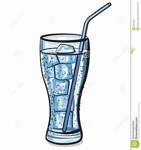 Glass Of Water Ice Clipart