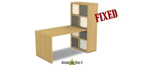 cuisine meuble ikea around the sims 4 custom content objects ikea expedit kallax furniture