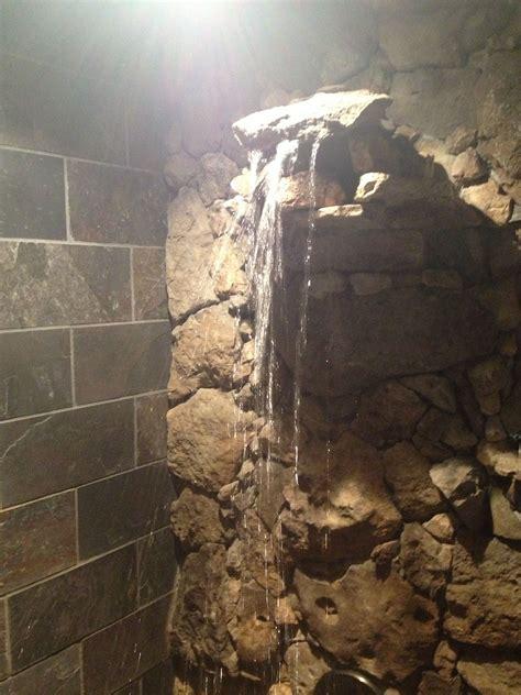 waterfall shower slate  limestone  images