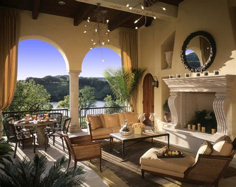 outdoor livingroom caslano outdoor living room mediterranean living room by susie johnson interior