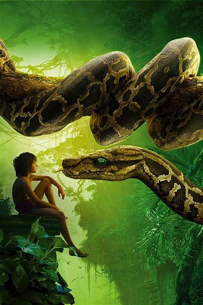 Jungle Kaa Anaconda Mowgli Iphone 4k Mobile