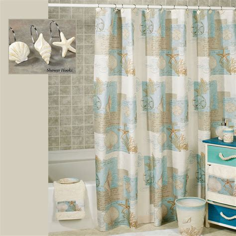 coastal shower curtains coastal moonlight shower curtain