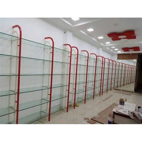 Glass Rack For Shop by White And Shop Display Glass Rack Rs 220 Square