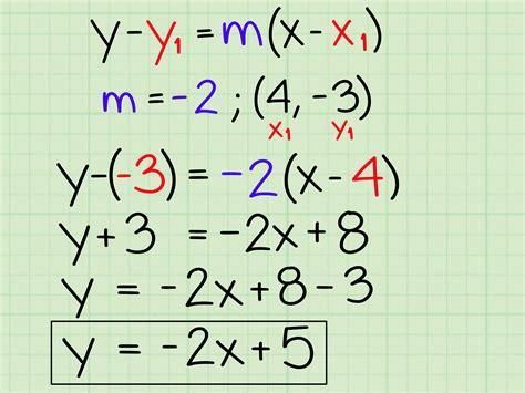 ways    slope intercept form  algebra wikihow