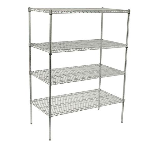 Regal Chrom by Winco Vcs 1848 Chrome Wire Shelf Kit 48 Quot W X 18 Quot D X 72 Quot H