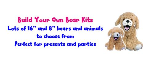 bear party kits teddy clothes  outfits fit