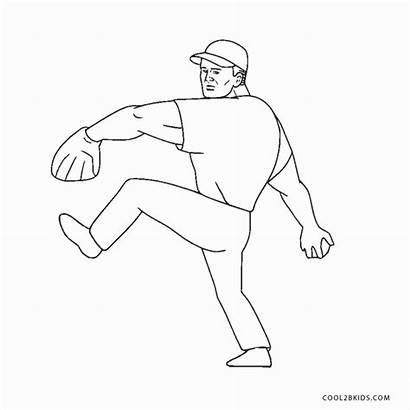 Baseball Coloring Mlb Players Printable