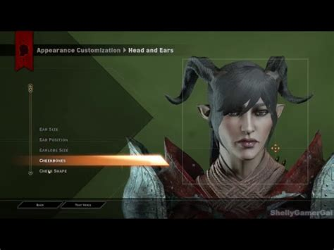 making faces female qunari mage dragon age inquisition