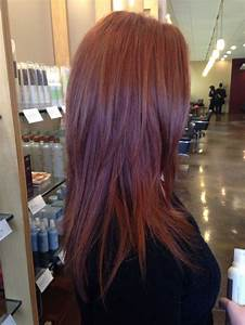 Salon Hair Colour Chart A Dimensional Copper Using Aveda Full Spectrum Permanent
