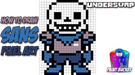 How To Draw Sans From Underswap