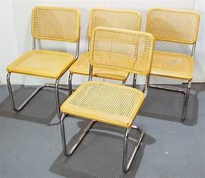 Freischwinger Stühle Klassiker : 4 st hle freischwinger marcel breuer buche model thonet86 ebay ~ Indierocktalk.com Haus und Dekorationen