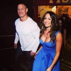 Nikki Bella and John Cena   People I   Pinterest   John ...