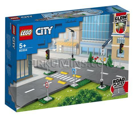 60304 LEGO® City Ceļa plāksnes, no 5+ gadiem NEW 2021 ...