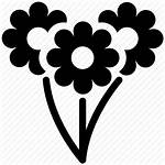 Icon Flower Flowers Daisy Icons Bunch Bouquet