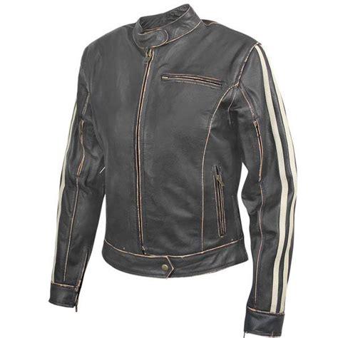 retro motorcycle jacket mens dark brown vintage motorcycle jacket with beige
