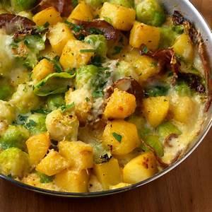Rosenkohl Kartoffel Gratin Rezept Küchengötter