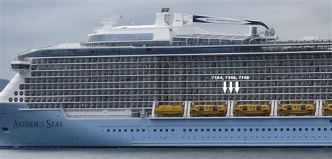 royal princess deck plan side view anthem deck 7 white post blocking balcony cruise critic