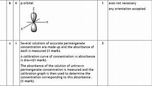 Marking Guide  1 2a Atomic Orbitals And Quantum Numbers