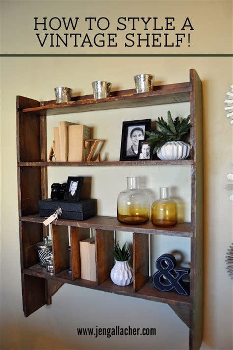 How To Style A Vintage Shelf  Jen Gallacher