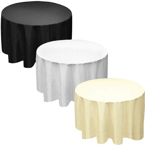"Factory Supply 90"" Round Polyester Tablecloth Table Cover. Murphy Bed Desks. Ottoman Coffee Table Round. Foosball Table Dimensions. Phone Holder Desk. Fold Down Changing Table. Kenmore Crisper Drawer. Small Computer Corner Desk. Oval Dining Table"