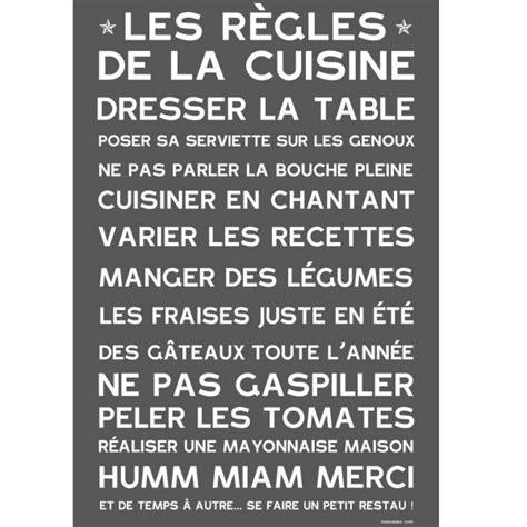 affiche pour cuisine sticker cuisine affiche poster adhésive