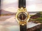 vintage watches: Christian Bernard 18k goldplated rm190