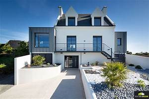 extension bois cubique extenbois With maison toit plat bois 9 extension bois finistere extenbois