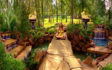 backyard paradise  spectacular natural pools