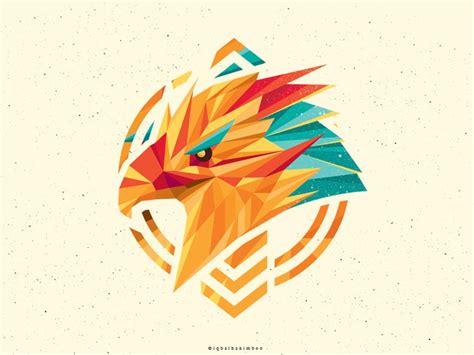 painting my 20 creative polygon logo style