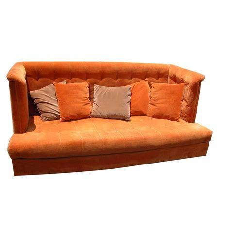 vintage mid century shelter sofa milo baughman thayer