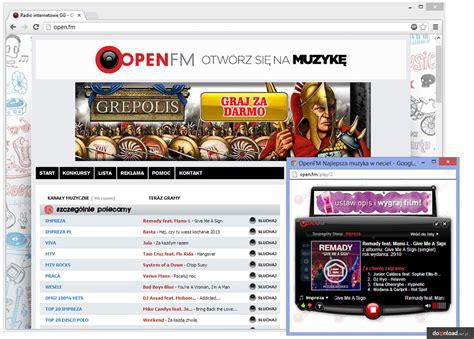 Open.fm Uruchom W Przeglądarce