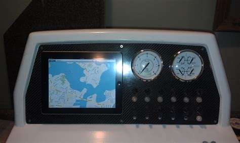 Acrylic Boat Dash by Material For Instrument Panel Options The Hull