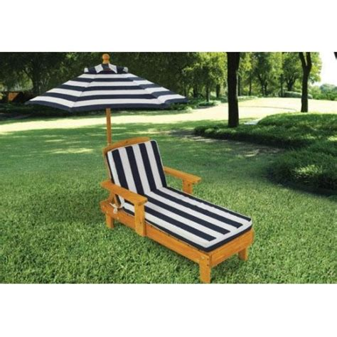 Kidkraft Outdoor Lounge Chair by Outdoor Chaise With Umbrella Kidkraft 00105 Child S Chair