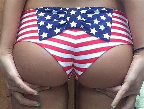 American Flag Bikini Photos Hottest American Flag Bikini