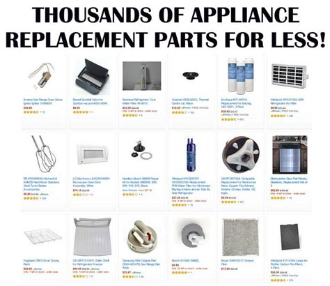 Appliances Replacement Parts by Free Appliance Repair Help Get Expert Advice To Fix Your